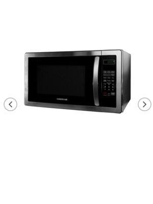 Black and silver Microwave for Sale in Pittsburgh, PA