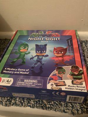 Pj Masks Night Sight Game for Sale in SeaTac, WA