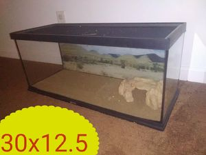 Glass lizard tank for Sale in Quincy, IL