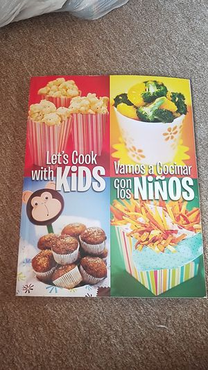 Bilingual kids cookbook for Sale in Poway, CA