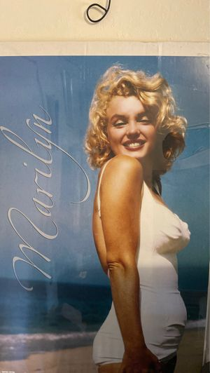 Marilyn Monroe poster , Picture for Sale in Seaside, CA