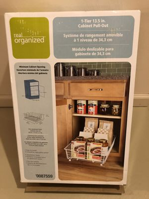 Sliding drawer for kitchen or bathroom cabinet for Sale in Avon, OH