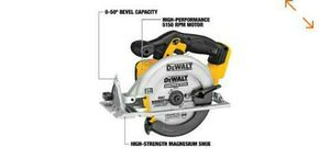 Dewalt 20 V 7- 1/4 in CIRCULAR Saw (Tool only) for Sale in Camden, NJ