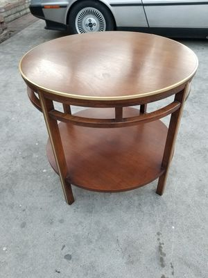 RARE 1960S MID CENTURY MODERN TIERED ROUND COCKTAIL TABLE END SIDE COFFEE EAMES ERA for Sale in Montebello, CA