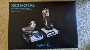 Logitech G X52 Flight Control System for Sale in Bethesda, MD