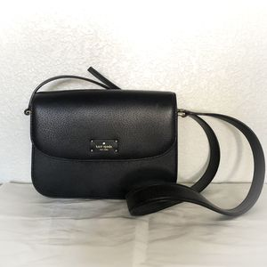 NEVER USED Kate Spade Black Leather Crossbody Bag for Sale in Phoenix, AZ