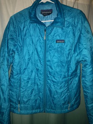 Excellent Women's Medium Light Blue Patagonia Nano Jacket for Sale in Coronado, CA