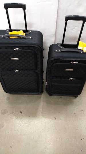 ACTIVE TRAVELER LUGGAGE 2 PIECE SET $55. BRAND NEW 4 WHEEL SPINNERS LIGHT WEIGHT EXPANDER SYSTEM. for Sale in HALNDLE BCH, FL