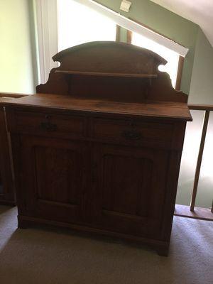 Antique Oak Jelly Cupboard Sideboard for Sale in Warrenton, VA