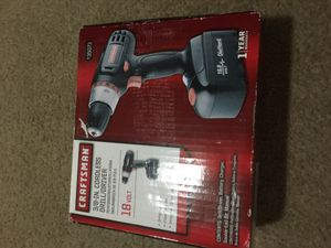 Craftsman drill/driver for Sale in Phoenixville, PA