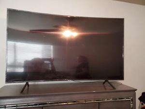 60 inch Samsung curved tv for Sale in Dallas, TX