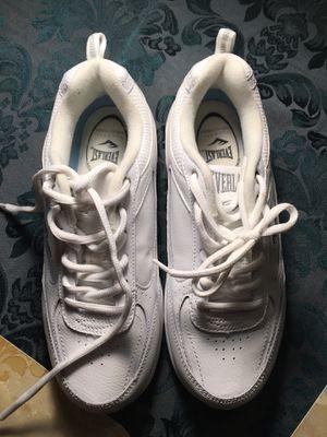 Everlast Martha white high tennis shoes size 6W for Sale in La Mirada, CA
