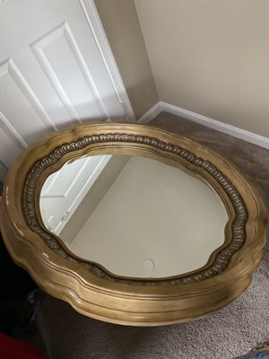 Oak mirror (heavy) for Sale in Camp Springs, MD