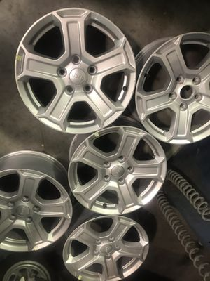 Jeep wheels 2018 for Sale in Plant City, FL