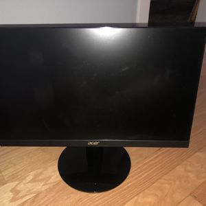 Two Acer 75HZ Computer Monitors for Sale in Huntington Beach, CA
