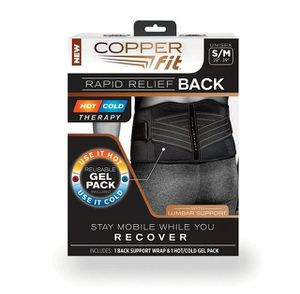 New copper fit large / extra large rapid back relief hot and cold for Sale in Henderson, NV