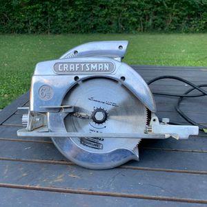 "Vintage 1960 Craftsman 6 1/2"" Circular Saw, Model 336.27963 - Works Well for Sale in Dayton, OH"