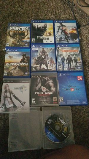 Ps4 and ps3 games all for 70 or best offer for Sale in Sanger, CA