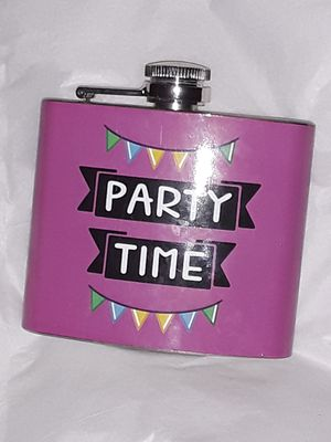 Time to party flask for Sale in Hobart, WI