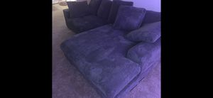 New suede sectional couch for Sale in Queens, NY