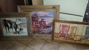 Western pictures for Sale in San Antonio, TX