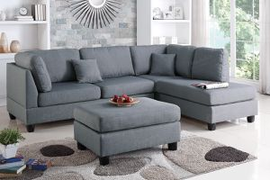 Veterans Day sale!!! Sectional with ottoman for Sale in Phoenix, AZ