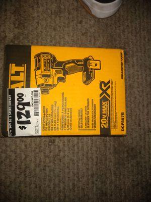 DeWalt XR 1/4 inch impact driver in box unused for Sale in Poway, CA