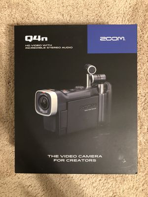 Zoom Q4N HD Video Camera with High Quality Audio ORIGINALLY $250 BRAND NEW for Sale in Palm Harbor, FL