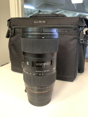 Sigma 18-35 1.8 for Sony for Sale in Vista, CA