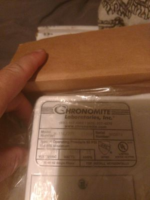 Chronomite M-15L tankless water heater for Sale in Largo, FL