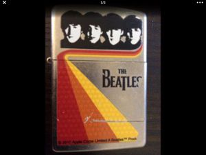 2010 Beatles Limited Edition Zippo Lighter. Still in nice condition. Works great. for Sale in Lakewood, WA