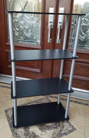 4 Tier Display Entertainment Media Storage Shelves for Sale in Monterey Park, CA