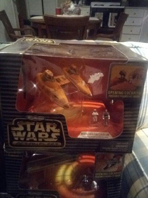 Stars wars collectables