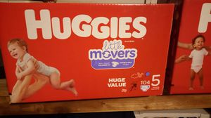 Huggies diapers and detergent for Sale in Mesquite, TX