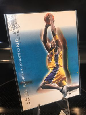 **2001 Upper Deck Black Diamond Kobe Bryant Basketball Card**Lakers Jersey 8 Collectible**Send for PSA Beckett graded 9 or 10**$29 OBO for Sale in Carlsbad, CA