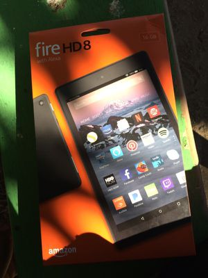 Amazon fire tablet hd 8 for Sale in Perris, CA