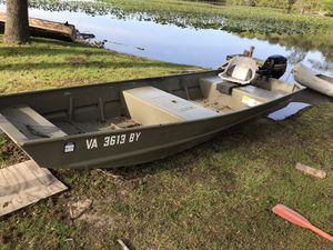 15ft Jon Boat for Sale in Virginia Beach, VA