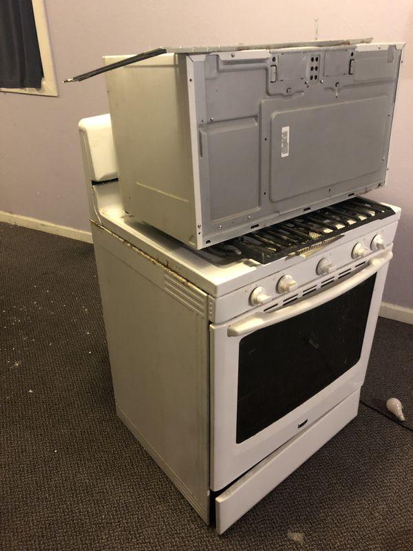 Gas Stove & microwave Free Free