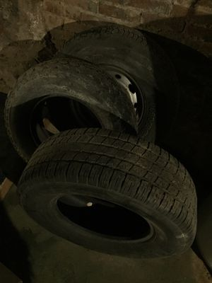 3 15 inch tires 20$ a peice. 40$ for all 3 for Sale in Baltimore, MD