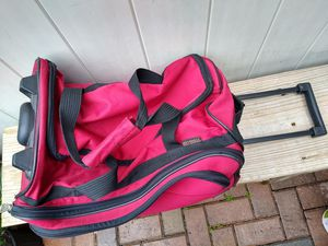 Bag with wheels ... in good condition all perfect closures for Sale in Orlando, FL