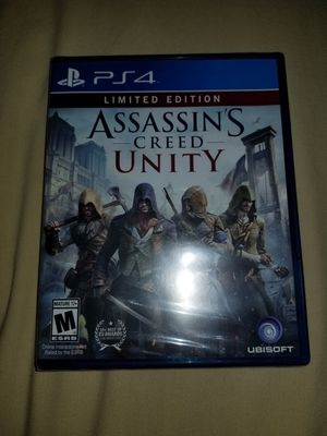 Assassins Creed Unity Limited Edition PS4 for Sale in Los Angeles, CA