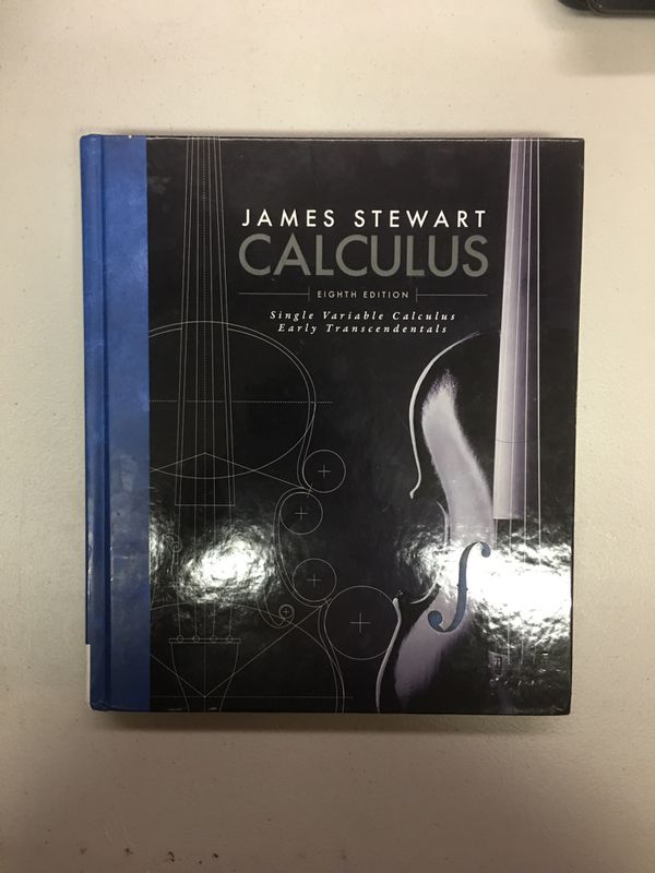 Calculus : Early Transcendentals by James Stewart 8th edition