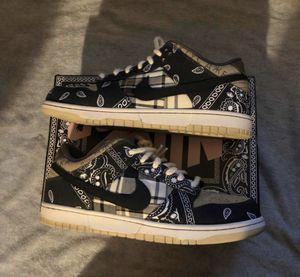Nike sb dunk low Travis Scott special box stockx receipt for Sale in Los Angeles, CA