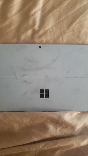 Surface pro 4 no charger or keyboard but works for Sale in Minneapolis, MN