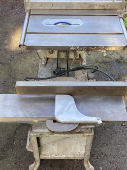 Table Saw and Planer 2-in-1 Heavy Duty for Sale in Vancouver,  WA