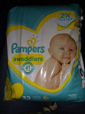 Pampers Swaddlers Diapers for Sale in Wichita, KS