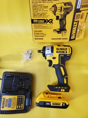 Dewalt 20v max xr brushless 3/8 impact wrench kit impacto tres octavos for Sale in Los Angeles, CA