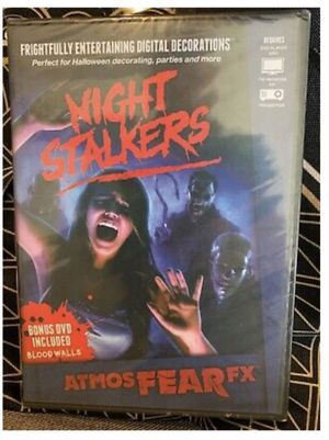 NEW Sealed NIGHT STALKERS by ATMOSFEARFX Halloween Digital Decorations for Sale in Pawtucket, RI