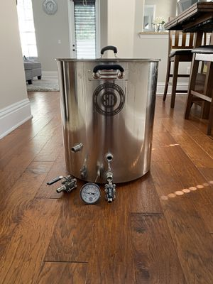 Spike Brewing 20 gal stainless steel homebrew kettle for Sale in Tampa, FL