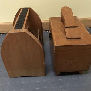 Vintage Shoe Shine Boxes (2) for Sale in Mount Laurel Township, NJ